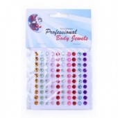 Body jewels rondjes 6mm 100st