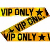 Markeerlint VIP ONLY 15m goud