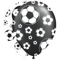 Ballonnen Voetbal 30cm 8st