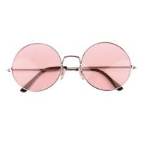 Hippie bril Giant Roze