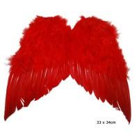 Rode Vleugels 33x34cm