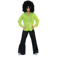 Disco Saturday Night Hemd Groen