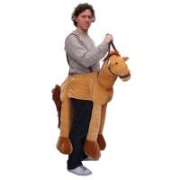 Instap kostuum paard volwassenen