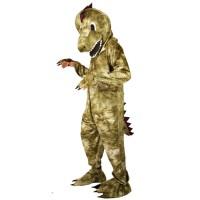 Kostuum plush giant Dinosaurus