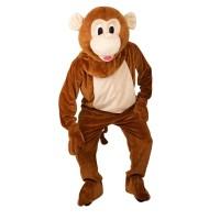 Mascotte kostuum aap Apenpak met kop