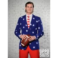 Opposuit Stars & Stripes Amerikaans kostuum