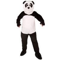 Panda mascotte kostuum voor volwassenen