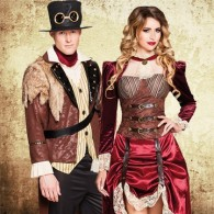 Steampunk themafeest