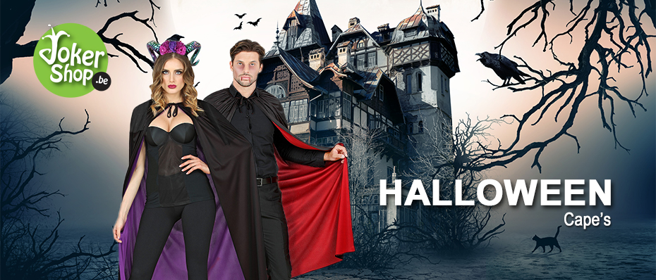 Halloween cape accessoires kledij