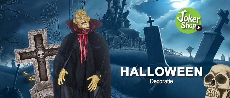Halloween decoratie spullen versiering eng griezelig