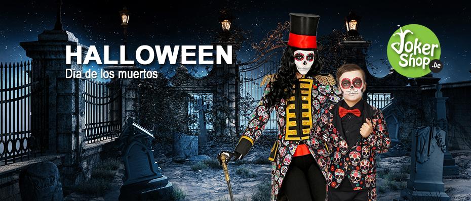 Halloween dia los muertos kleding accessoires