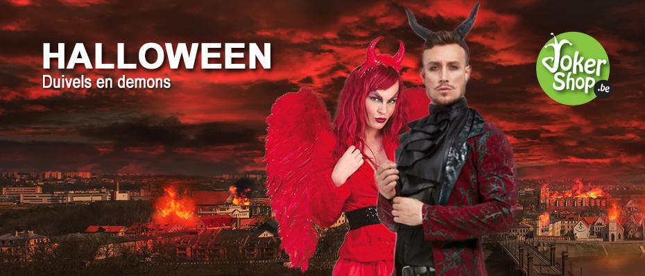 Halloween duivel demons accessoires kleding