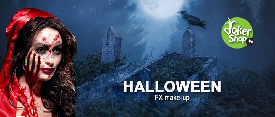 Halloween fx make up schmink nepbloed