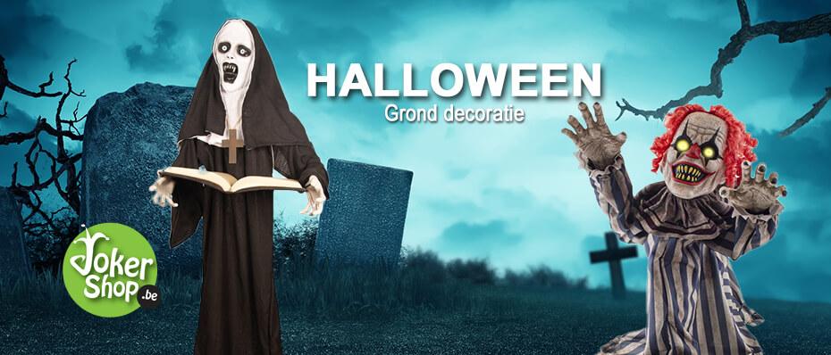 Halloween grond decoratie versiering