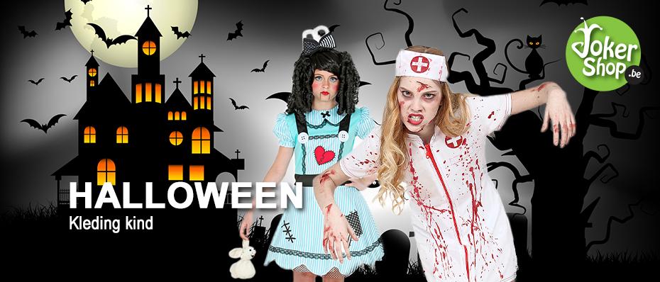 Halloween kostuums kinderen griezel kleding
