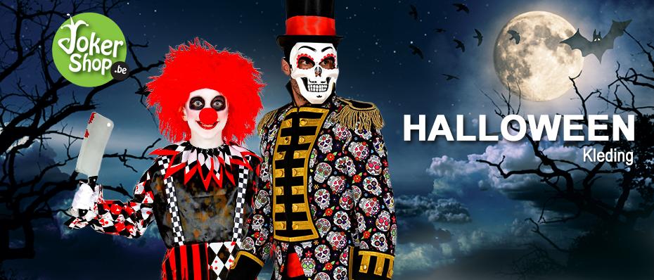 Halloween kleding griezel kostuums kinderen volwassenen