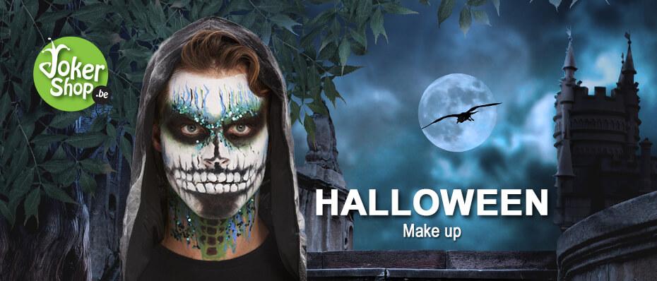 Halloween make up schmink