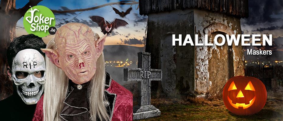Halloween masker griezelig horror