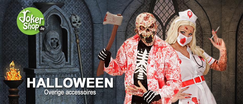 Halloween spullen accessoires versiering griezelig horror