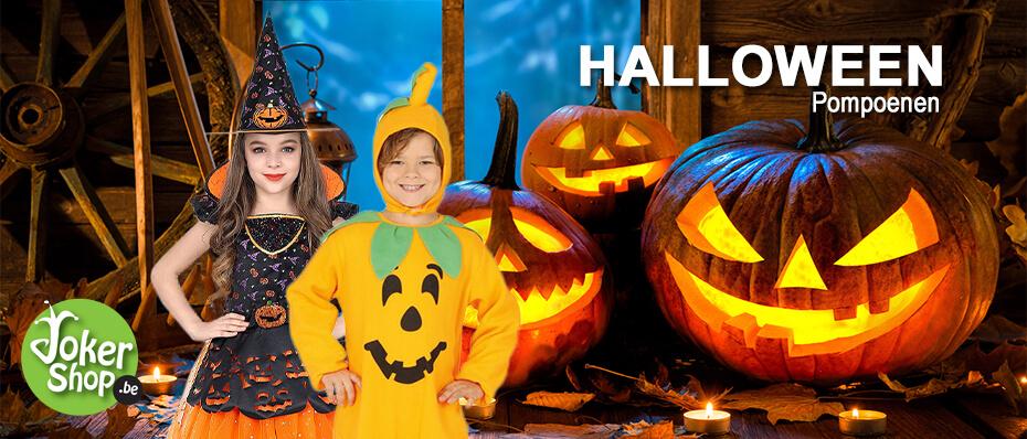 Halloween pompoen decoratie kleding spullen