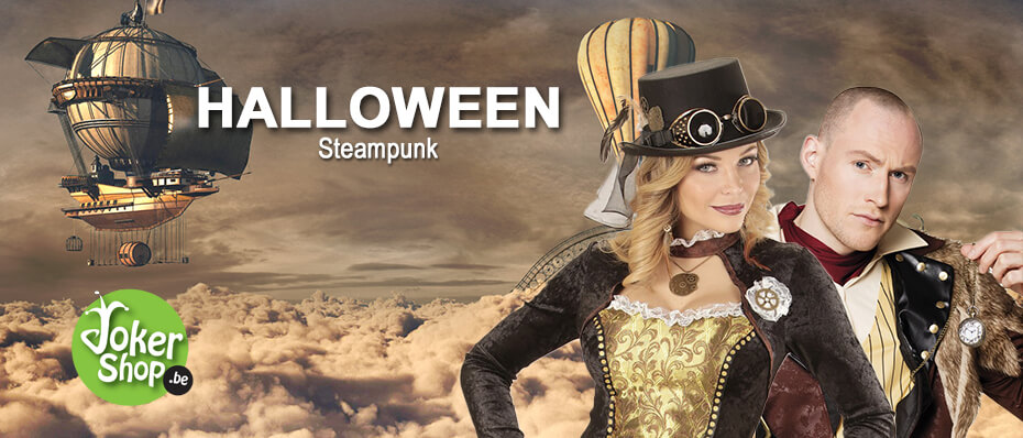 Halloween steampunk kleding accessoires