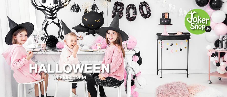 Halloween tafel decoratie sfeer