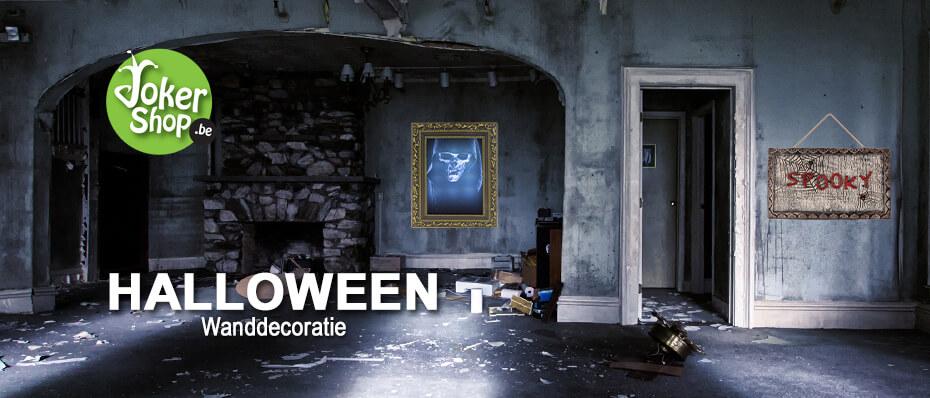 Halloween wand decoratie griezelig horror