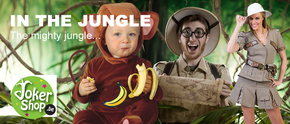 jungle safari thema party feest klding outfit