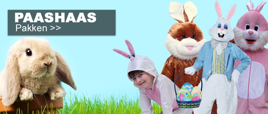 paashaas kostuum pak konijnenpak konijnen bunny oren