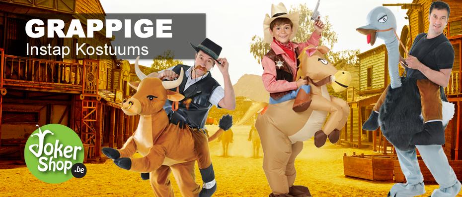 instap kostuum stier paard dinosaurus kameel grappig pak carnavalskostuum jump in ride on gedragen door berijdbaar