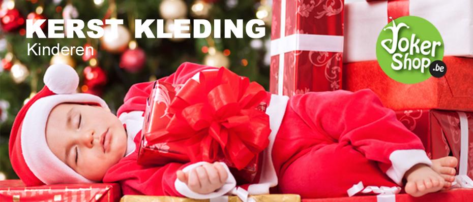 kerstkleding kerst kostuum pakje kerstmanpak kerstjurkje kinderen meisjes jongens