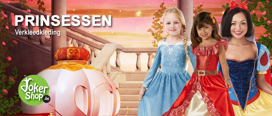 prinsessen kleding prinsessenjurk prinsessenkleed carnaval verkleedkleren