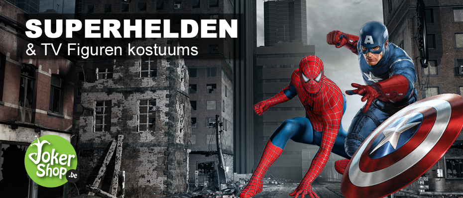 superhelden kostuums kleding spiderman batman superman captain america star wars carnavalskostuum verkleedkledij