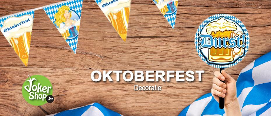 Oktoberfest decoratie artikelen