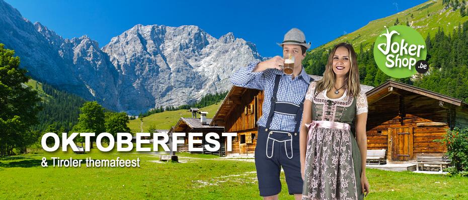 Oktoberfest tiroler bier feest