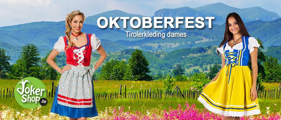 Tiroler kleding dames jurkjes dirndl oktoberfest