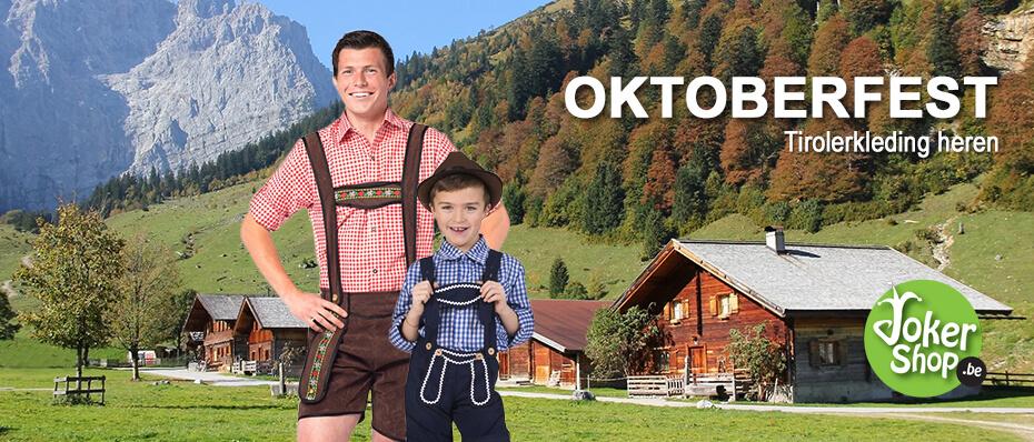 Tiroler kleding heren lederhosen oktoberfest