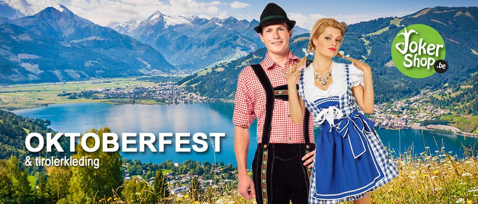 Oktoberfest tiroler kleding man vrouw