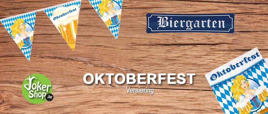 Oktoberfest versiering bierfeest tiroler