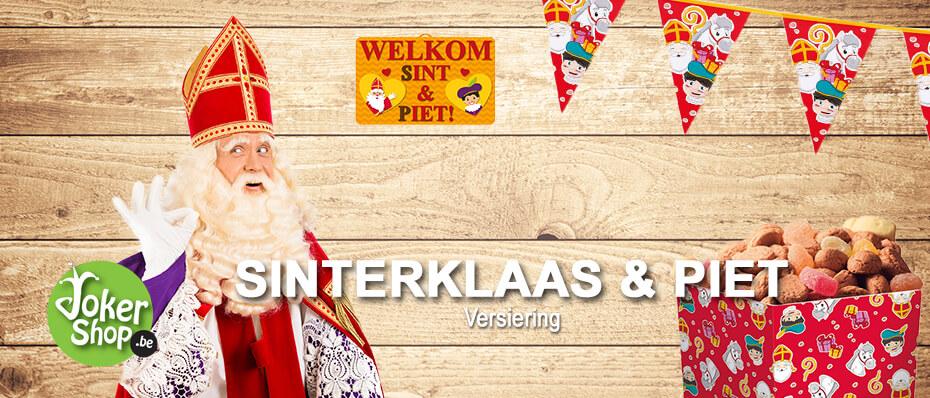 Sinterklaas decoratie versiering sint piet
