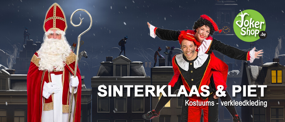 Sinterklaas kostuum sint piet kleding