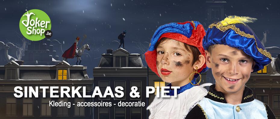 Sinterklaas kleding sint piet decoratie accessoires