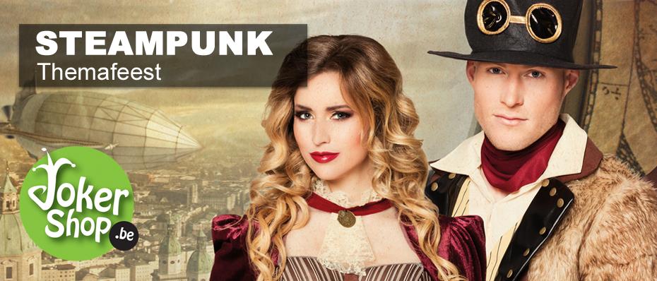 steampunk kleding kostuum accessoires themafeest
