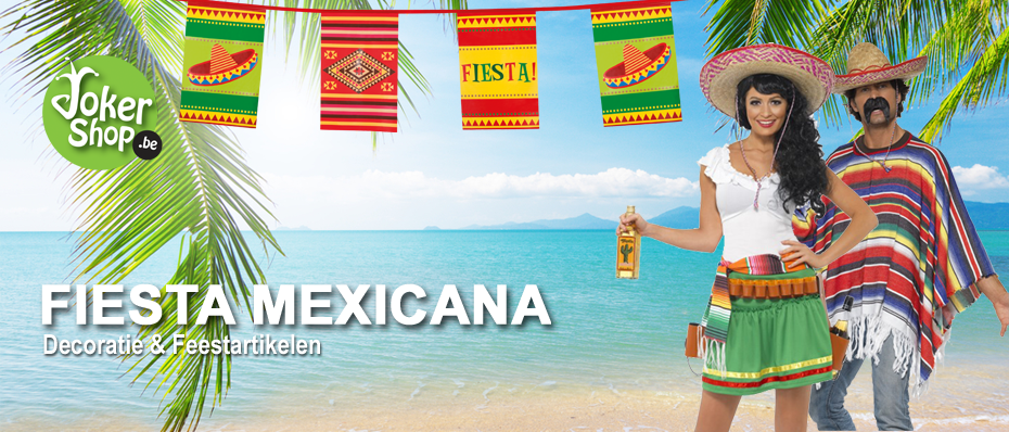 mexicaans themafeest versiering decoratie feestartikelen kleding