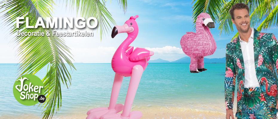 flamingo decoratie themafeest versiering feestartikelen