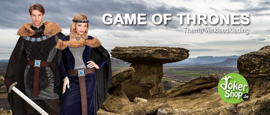 kostuum game of thrones verkleedkleedkleding kledij