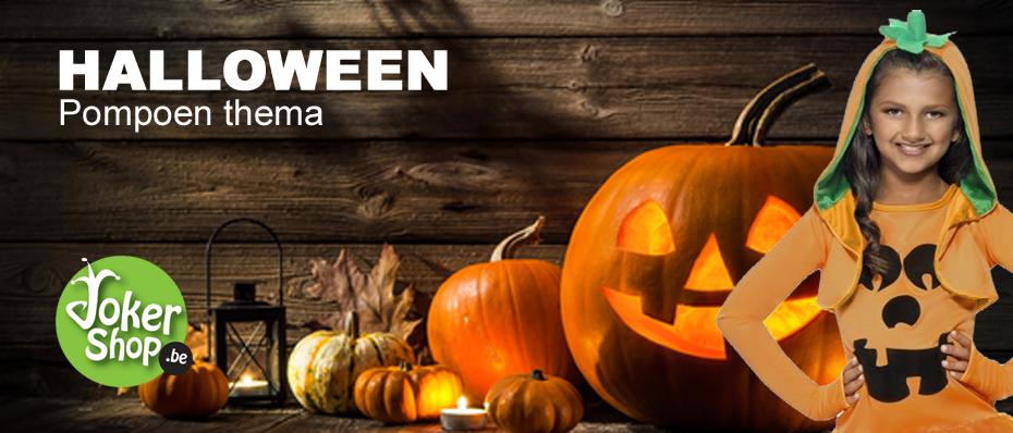 hallowen pompoen kostuum pakje decoratie versiering