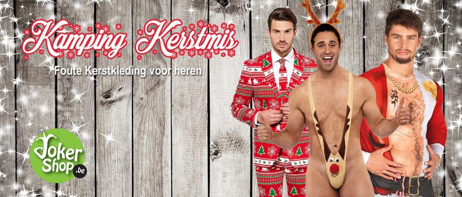 kamping kerstmis kleding foute outfit heren