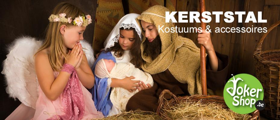 kerststal jozef maria 3 drie koningen kostuum accessoires kerstkleding kerst verkleedkleding engelen kostuum