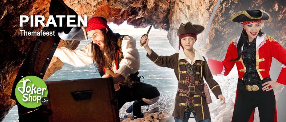 piraten themafeest piraat kleding accessoires decoratie